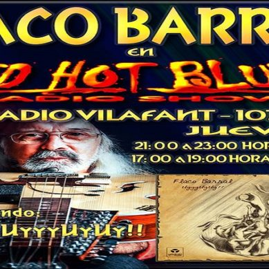 "Entrevista al músic ""Flaco Barral"" en el programa Red Hot Blues"