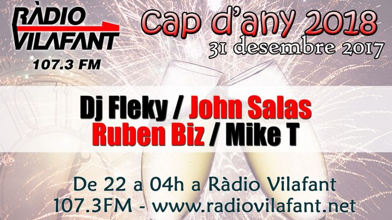 Cap d'any 2018 a Ràdio Vilafant