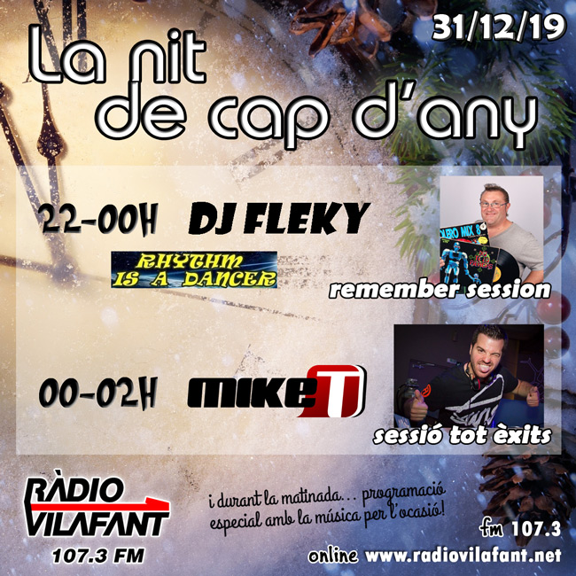 Cap d'any Ràdio Vilafant